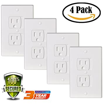 Amazon Com Universal Electric Outlet Cover Baby Safety Self