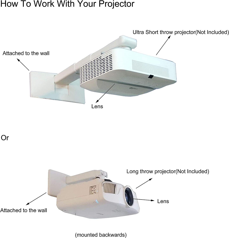 Soporte de Pared para proyector de proyección Ultra Corta, con ...
