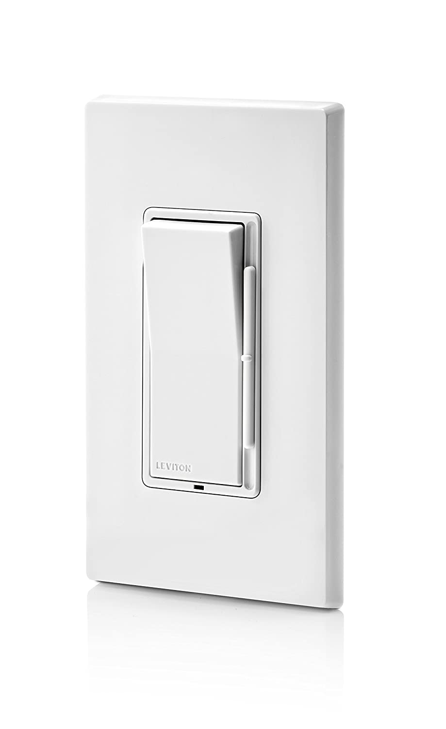 71rKT cNU0L._SL1500_ leviton dsl06 1lz decora universal rocker slide dimmer, 300 watt Leviton Outlet Wiring Diagram at bayanpartner.co