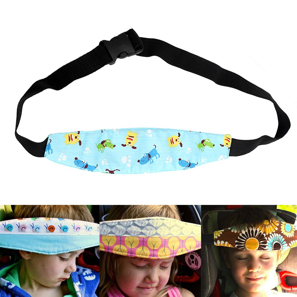 Stil 1 iTimo Einstellbare Kindersicherheitsgurt Kopfst/ütze Pad f/ür Kinder Schlafsack Autositz Kopfst/ütze Strap Head Cover