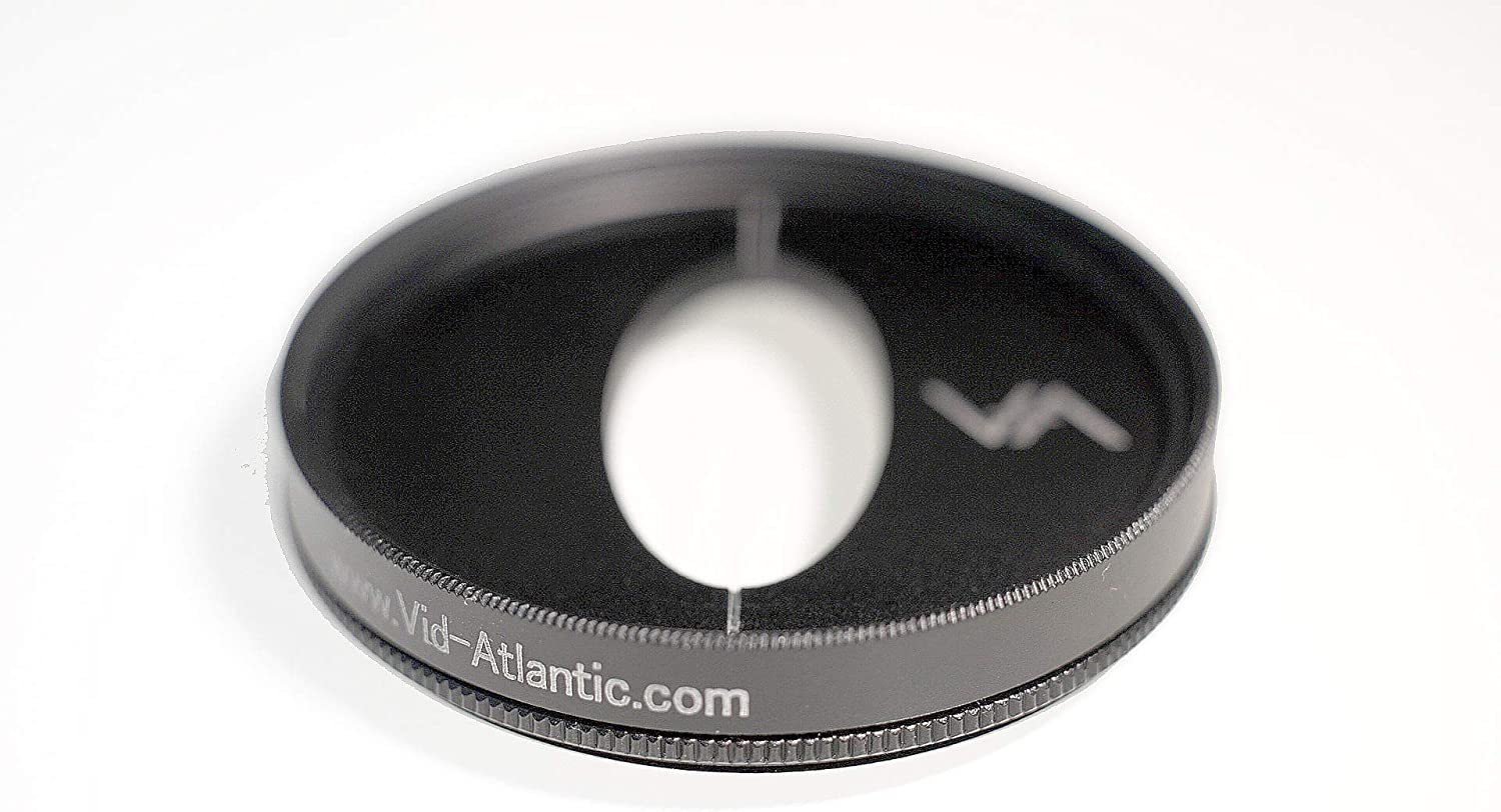 Anamorphic Lens Looks 58mm CineMorph Glass-Less Filter with Neutral Colored Flare//Streak