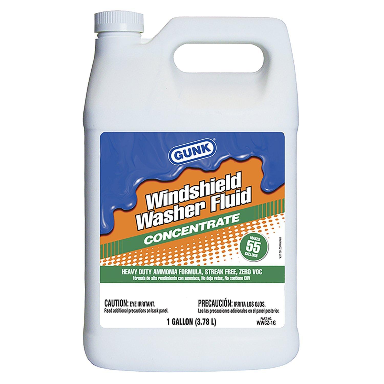 GUNK WWCZ-1G Summer Windshield Washer Solvent - 1 Gallon