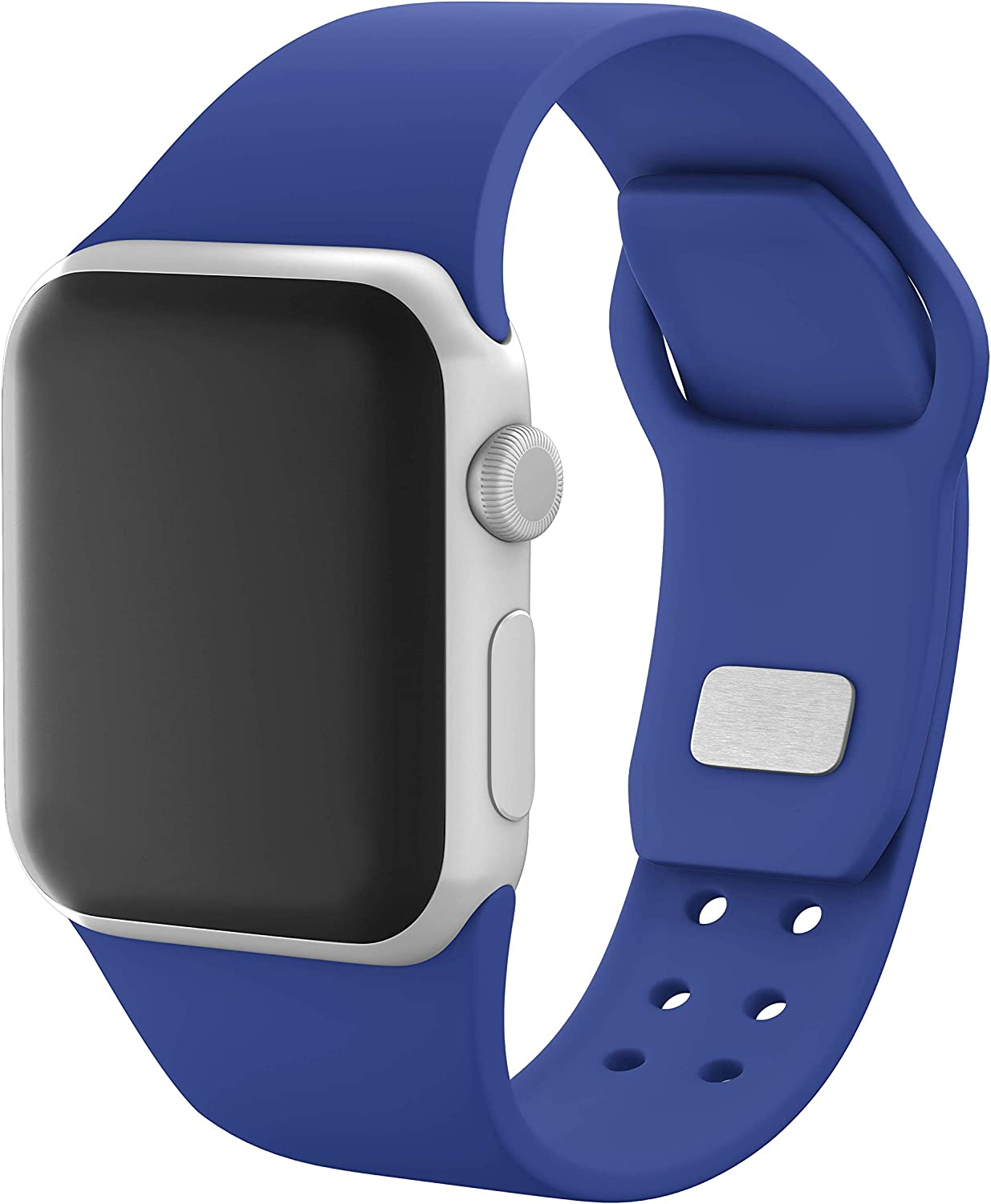 AFFINITY BANDS Silicone Sport Watch Band Compatible with Apple Watch
