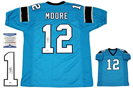 buy online 08c21 6947f Dj Moore Autographed Signed Jersey - Beckett Authentic ...