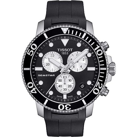 Tissot Seastar 1000 T120.417.17.051.00 Cronógrafo para Hombres: Amazon.es: Relojes