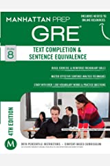 GRE Text Completion & Sentence Equivalence (Manhattan Prep GRE Strategy Guides) Kindle Edition