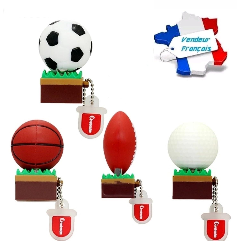 CLE USB de balón de fútbol sobre césped, Capacidad 16 GB, y ...