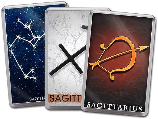 Star Sign Sagitario Zodiaco Art 3 Fuerte acrílico imán para Nevera ...