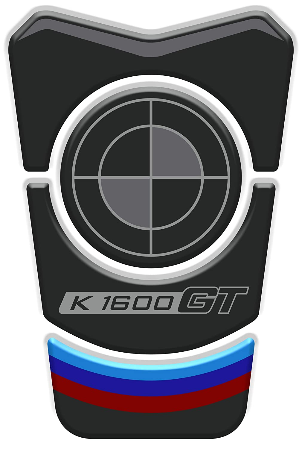 K1600 GT v1 Tankpad Sticker Protection de Reservoir Moto Autocollant en Gel compatible pour B.M.W