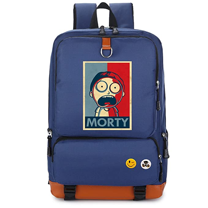 Mochila Azul Morty
