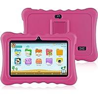 ainol Q88-(Tablet para niños con WiFi de 7 Pulgadas,Tablet Infantil de Android 7.1, Regalo para niños,Quad Core 1GB+16GB) Rosa