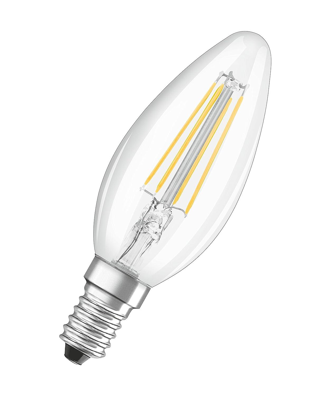 Osram 042940 Bombilla LED E14, 4 W, Blanco 4 Unidades: Amazon.es: Iluminación
