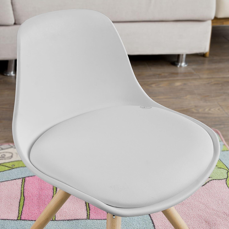 Tragbar Sitzkissen Verstellbar Zerlegbar Esszimmerstuhl Erh/öHen Pad Esszimmer Boostersitze Chickwin Sitzerh/öhung Stuhl 32.5x32.5x8cm,Hellgrau Kinder Sitzkissen Sitzerh/öhung Stuhl Cartoon
