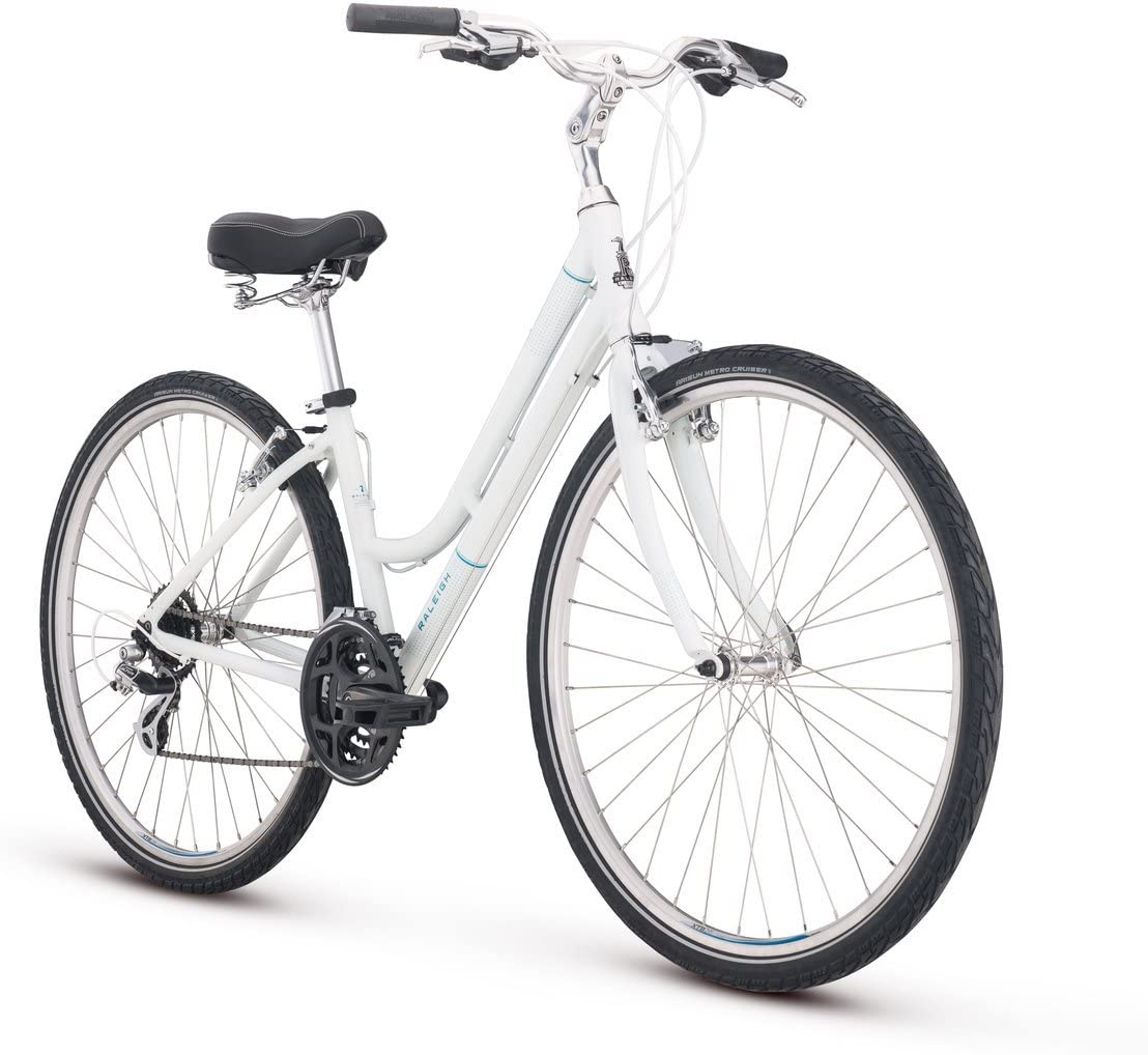 Raleigh Bikes Detour 2 Hybrid Bike for Women