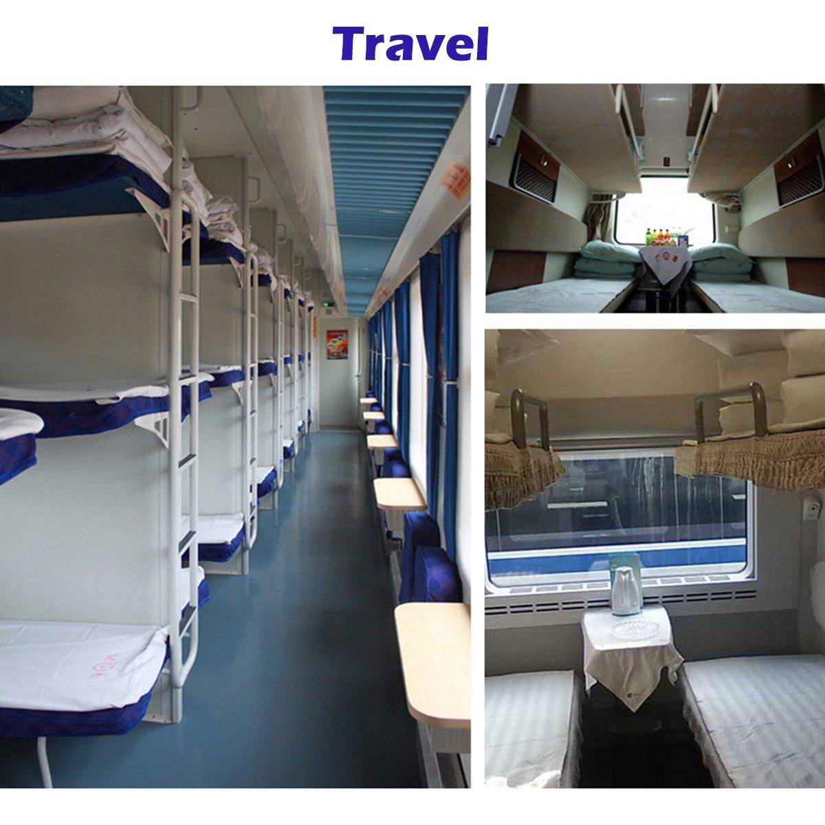 Azarxis Drap Sac de Couchage Voyage en Coton L/éger Portable Confortable 1//Double 2 Personnes Enveloppe Sarcophage pour Adulte H/ôtel Auberge Camping Randonn/ée