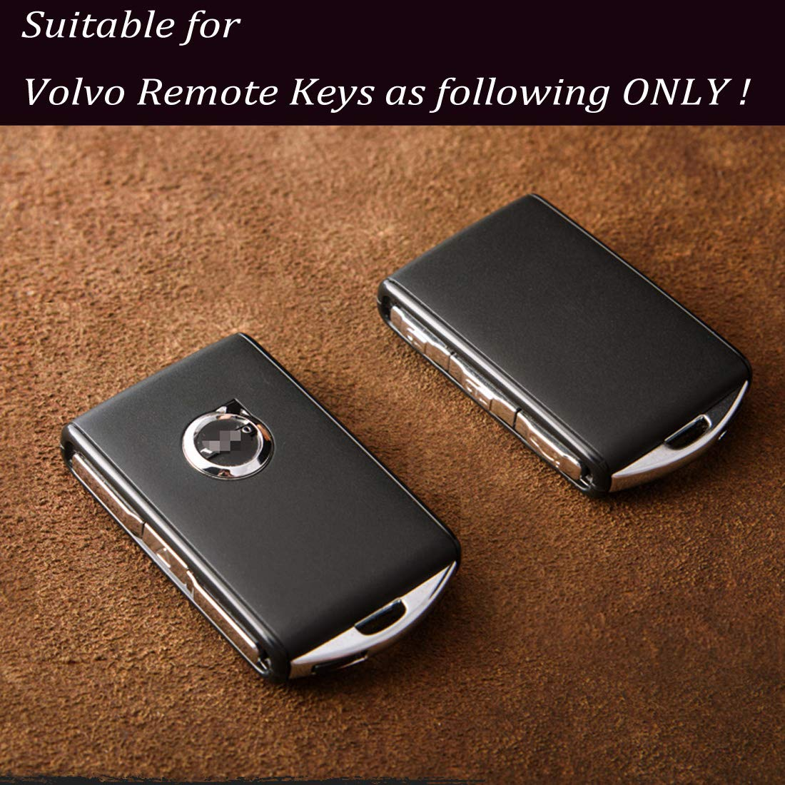 Amazon.com: KMT Car Smart Key FOB Calfskin Leather Case Cover ... on
