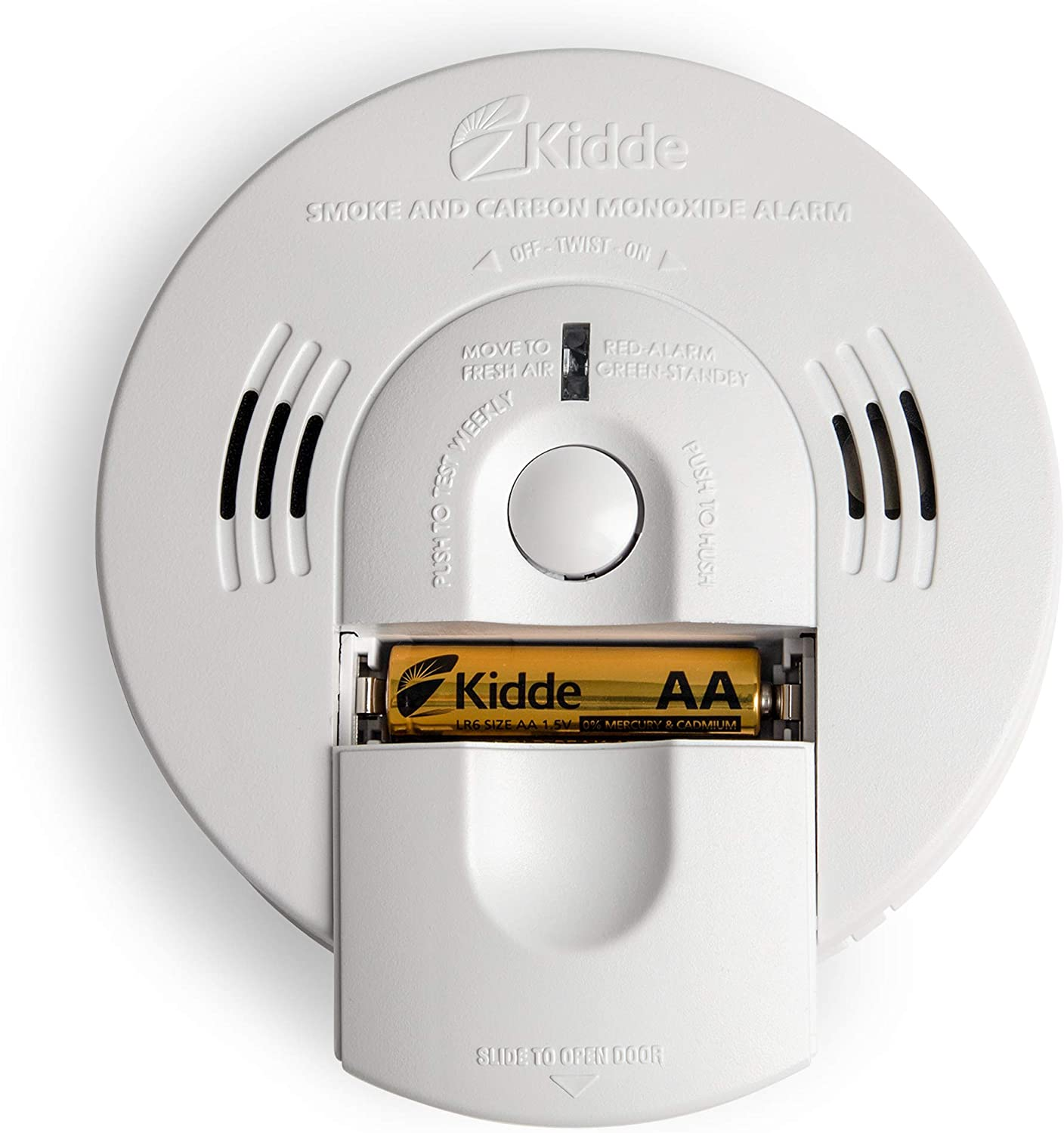 Kidde Smoke And Carbon Monoxide Detector Alarm With Voice Warning
