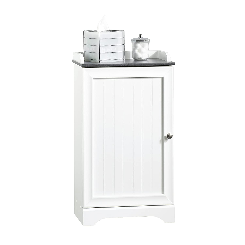 Sauder Caraway Floor Cabinet, Soft White Finish 414032