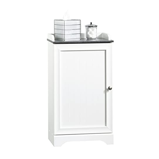 Sauder Caraway Floor Cabinet, Soft White Finish: Amazon.ca: Home ...