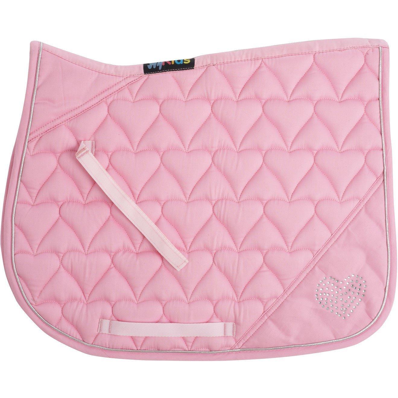 HySpeed Diamante All Purpose Saddle Pad Pony Pink