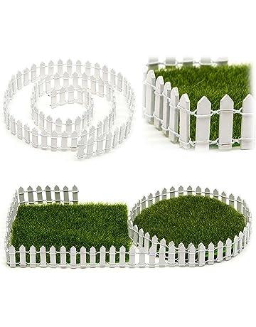 EMVANV - Kit de Madera en Miniatura para Valla de Hadas, jardín, terrario,