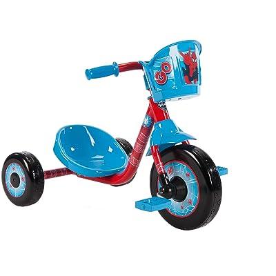 Marvel Spider-Man Preschool Boys' Blue Tricycle by Huffy