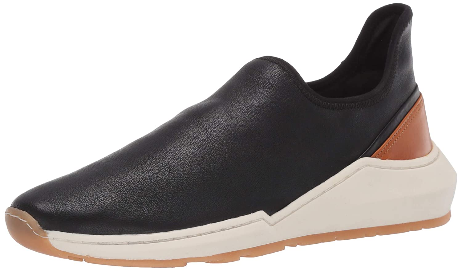 Buy Vince Womens Marlon Leather Low Top