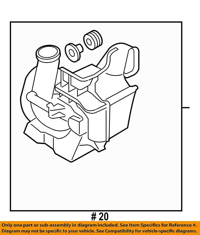 Genuine Mazda LF5W-13-200A Fresh Air Duct