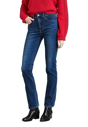 Levis Damen Jeans 724 High Rise Straight 18883-0023 Blau  Amazon.de   Bekleidung bb6ea17a78
