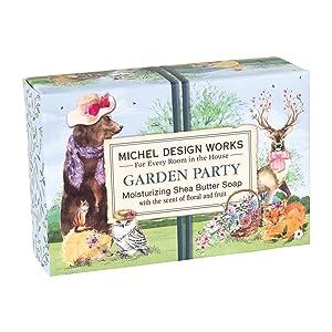 Michel Design Works 4.5 oz. Boxed Soap, Garden Party