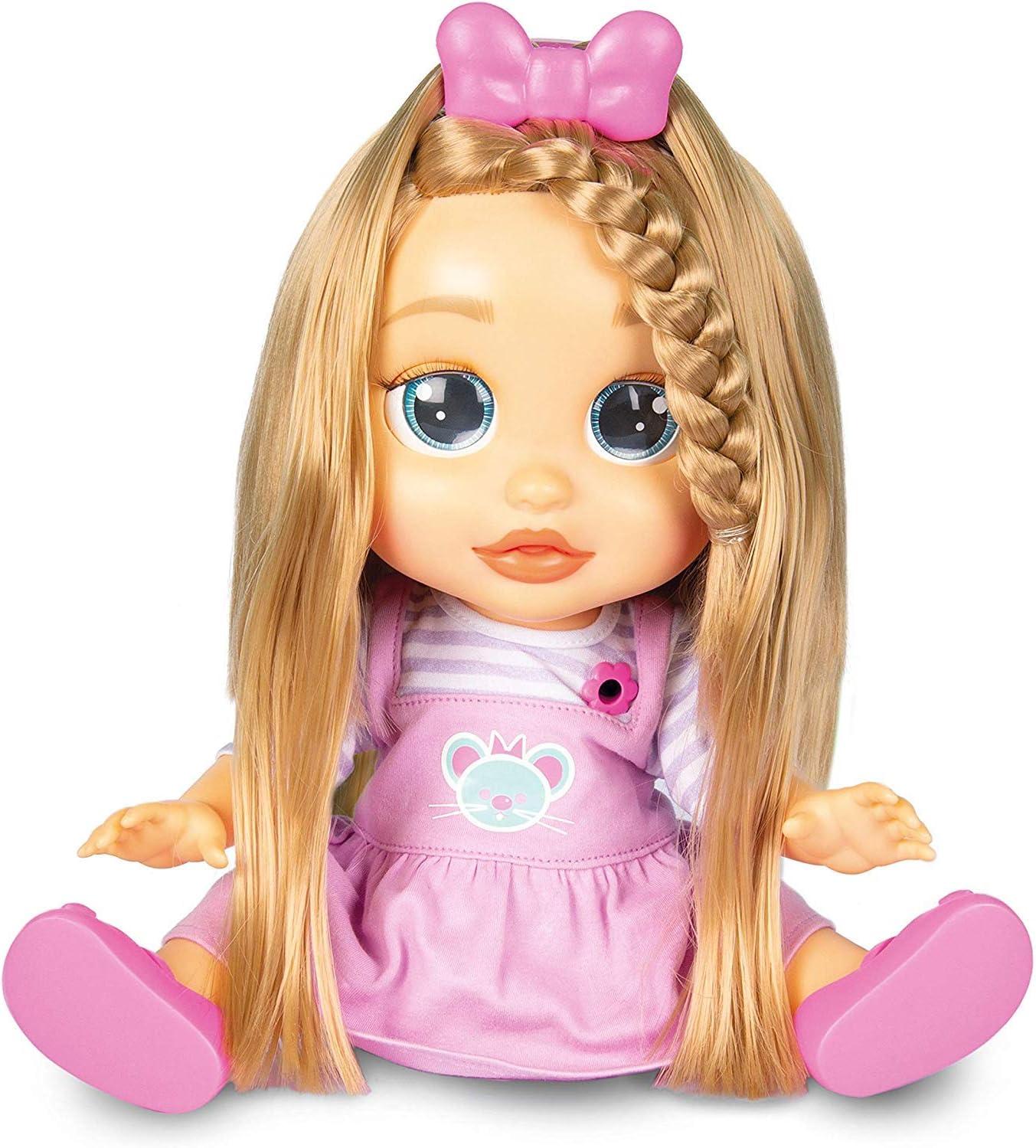 Amazon.es: IMC Toys - Peke Baby, MIA corta y peina (96981), color/modelo surtido: Juguetes y juegos