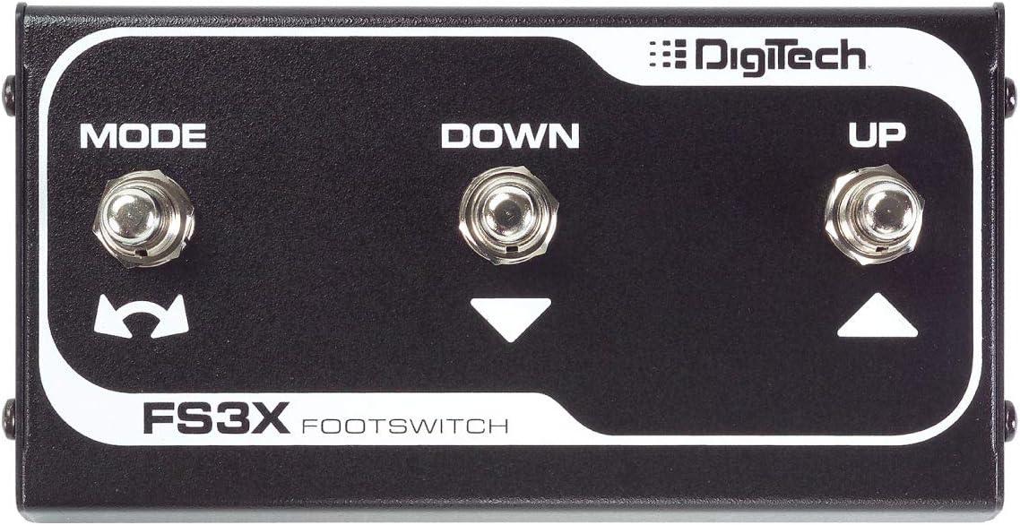 Digitech FS3X Accesorio para Guitarra - Accesorios para Guitarra, Negro