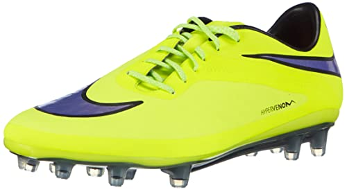 online store 4291c 656d2 Nike Hypervenom Phatal FG Men s Football Boots Yellow Size  6 UK