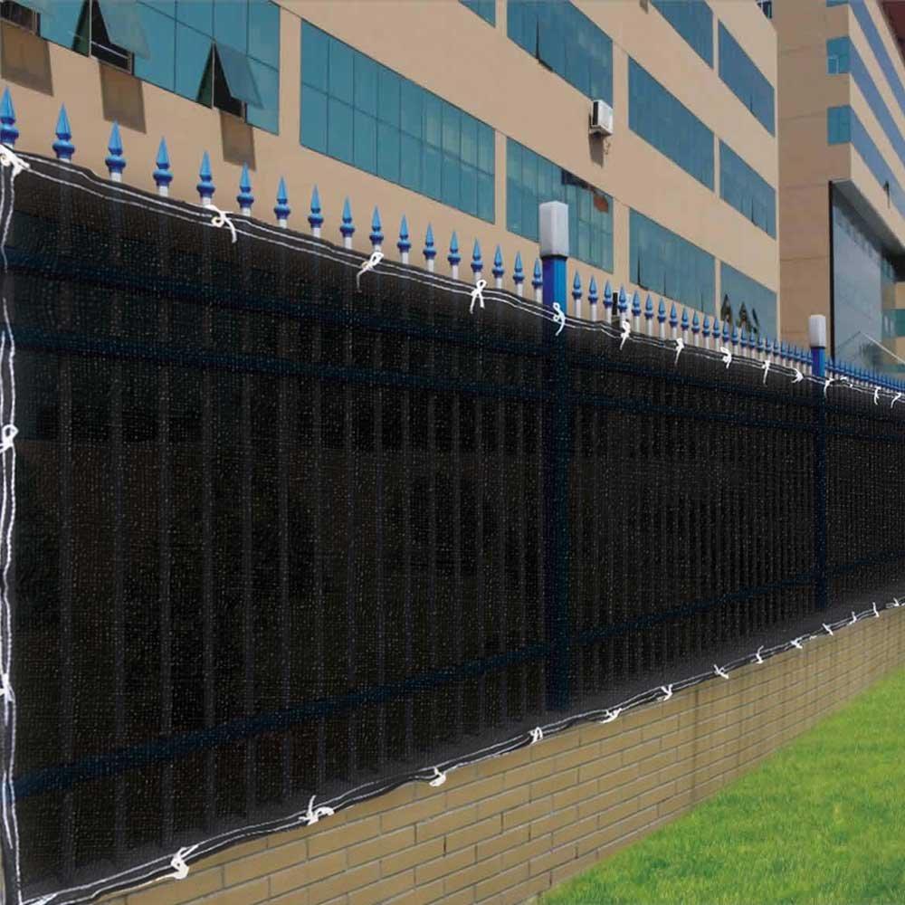 Amazon.com : Black Privacy Screen For Fences With 90 Visibility Blockage    4u0027 X 50u0027 : Outdoor Decorative Fences : Garden U0026 Outdoor