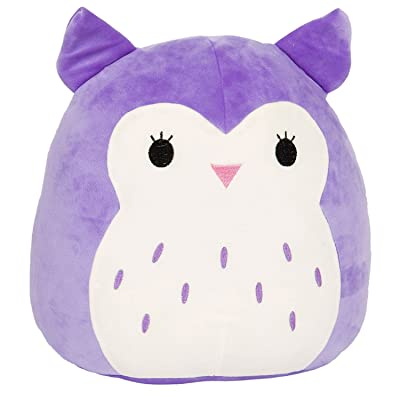 Squishmallow 5 Inch Series #1 Plush Super Soft Squishy Stuffed Animals Age 0+ (Holly The Purple Owl): Toys & Games