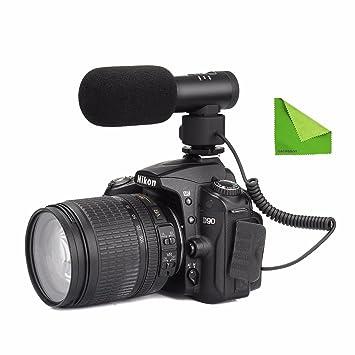 EACHSHOT comica cvm-sv20 Full Metal micrófono Video estéreo ...