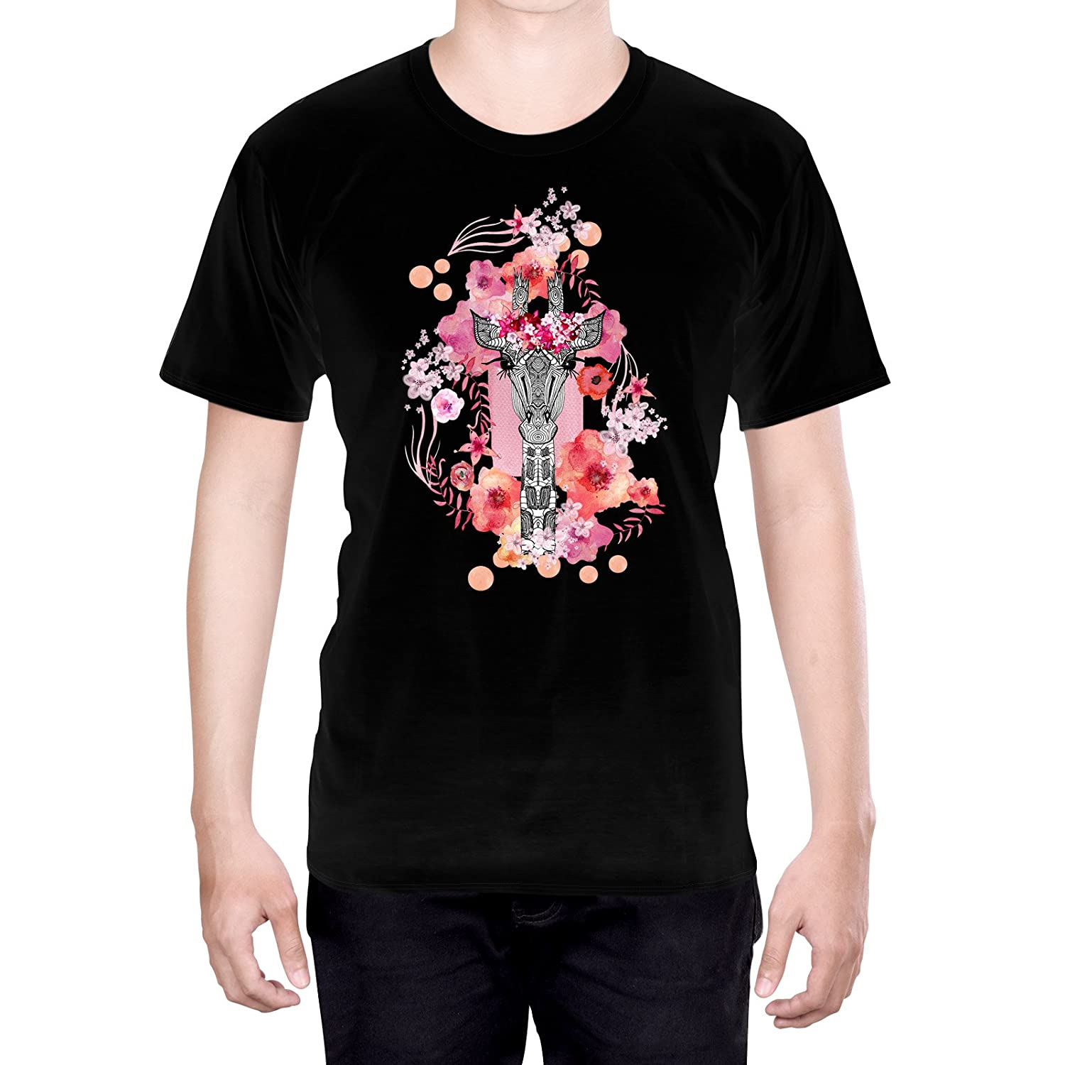 Official Sylvie Demers Rouge Love Art S - Small Black T-Shirt for Men
