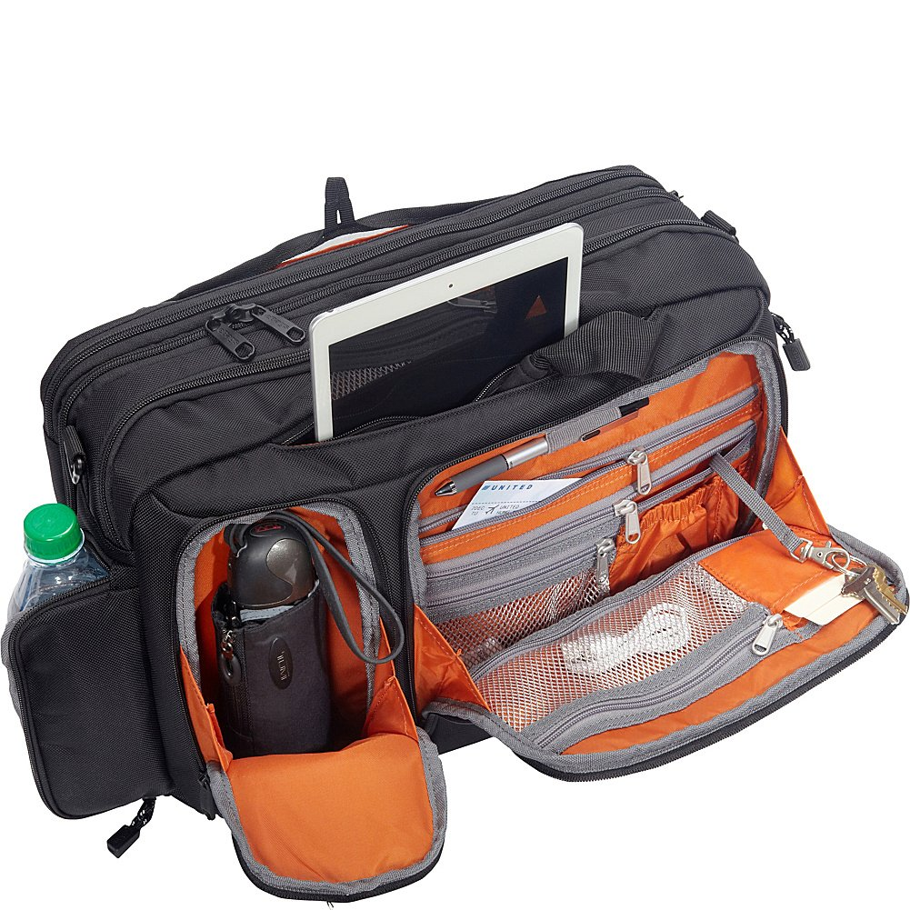 eBags Professional Laptop Briefcase (Black) by eBags (Image #5)