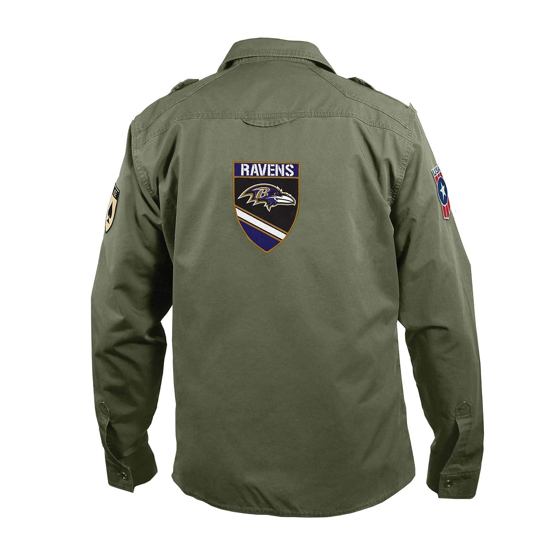 84a57604 NFL Men's Military Field Shirt
