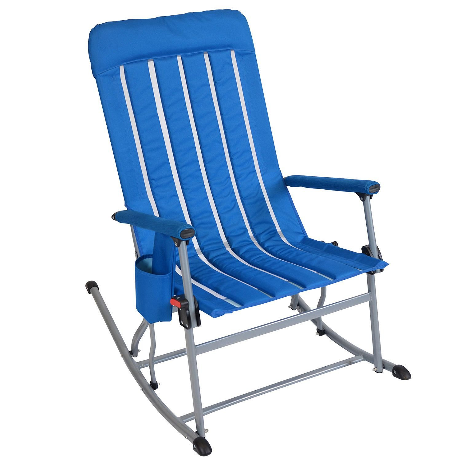Member's Mark Portable Rocking Chair - Blue by Member's Mark