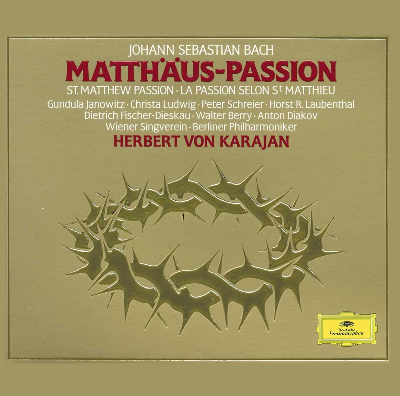 St. Matthew Passion [3 CD Box Set]