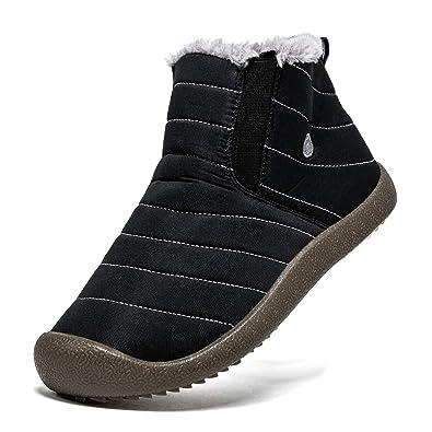 05106b8796c Amazon.com | SONLLEIVOO Mens Snow Boots Waterproof Boots Fashion ...