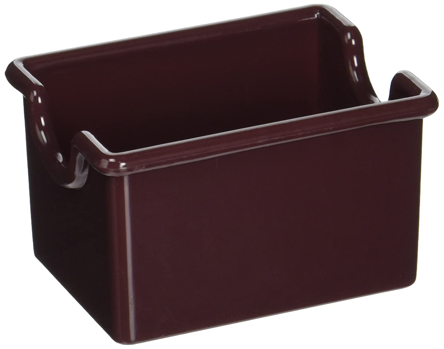 New Star Foodservice 28454 Plastic Sugar Packet Holder, Brown, Set of 12