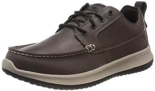 Skechers Delson-Elmino, Mocasines para Hombre: Amazon.es: Zapatos y complementos