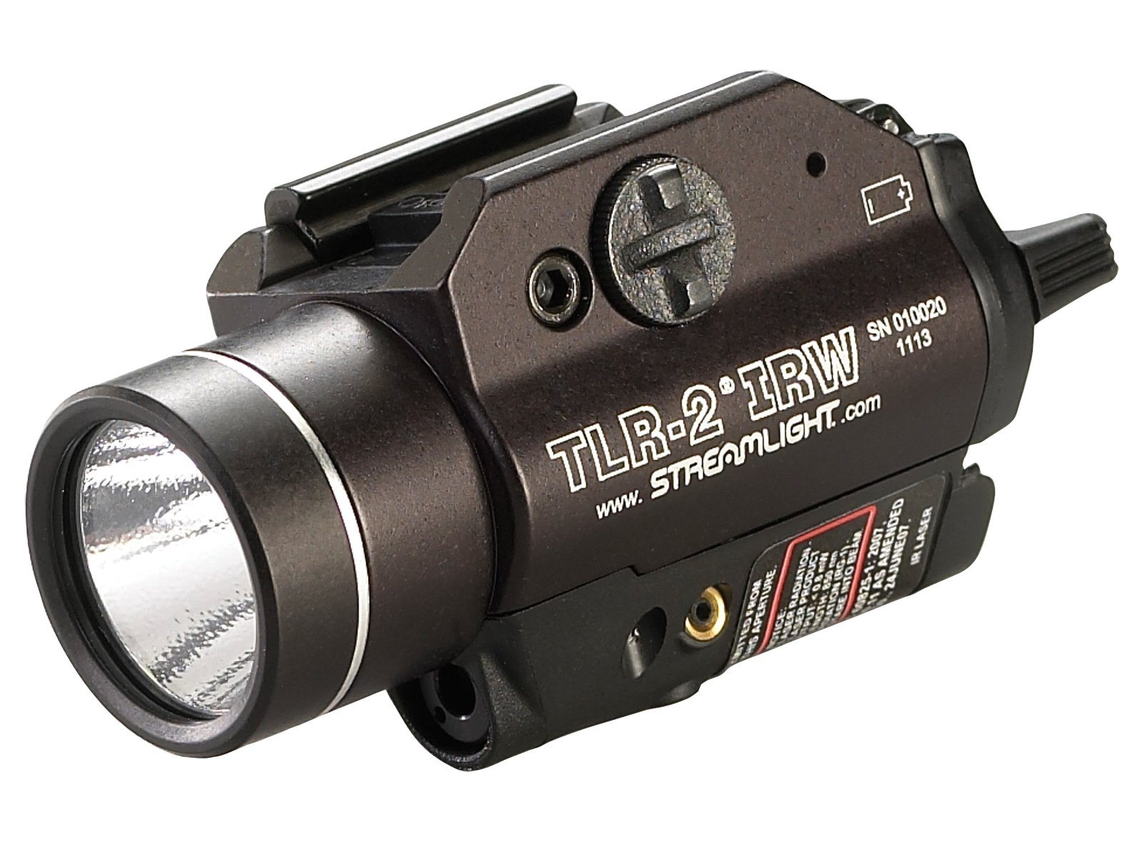 Streamlight 69165 TLR-2 IRW Weapon Mounted Strobing Tactical Light with Infrared Laser