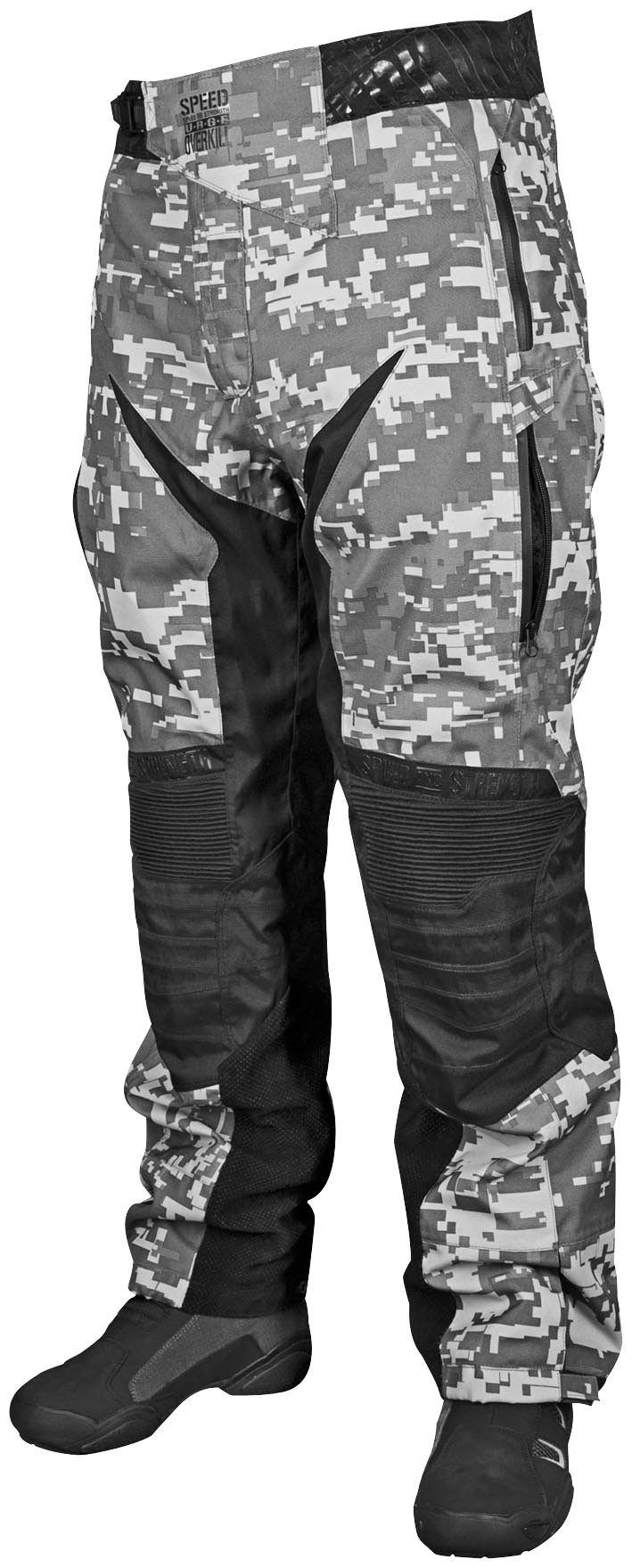 Speed and Strength Urge Overkill Men's Motorcycle Textile Pants (Urban Camo/Black, XXX-Large)