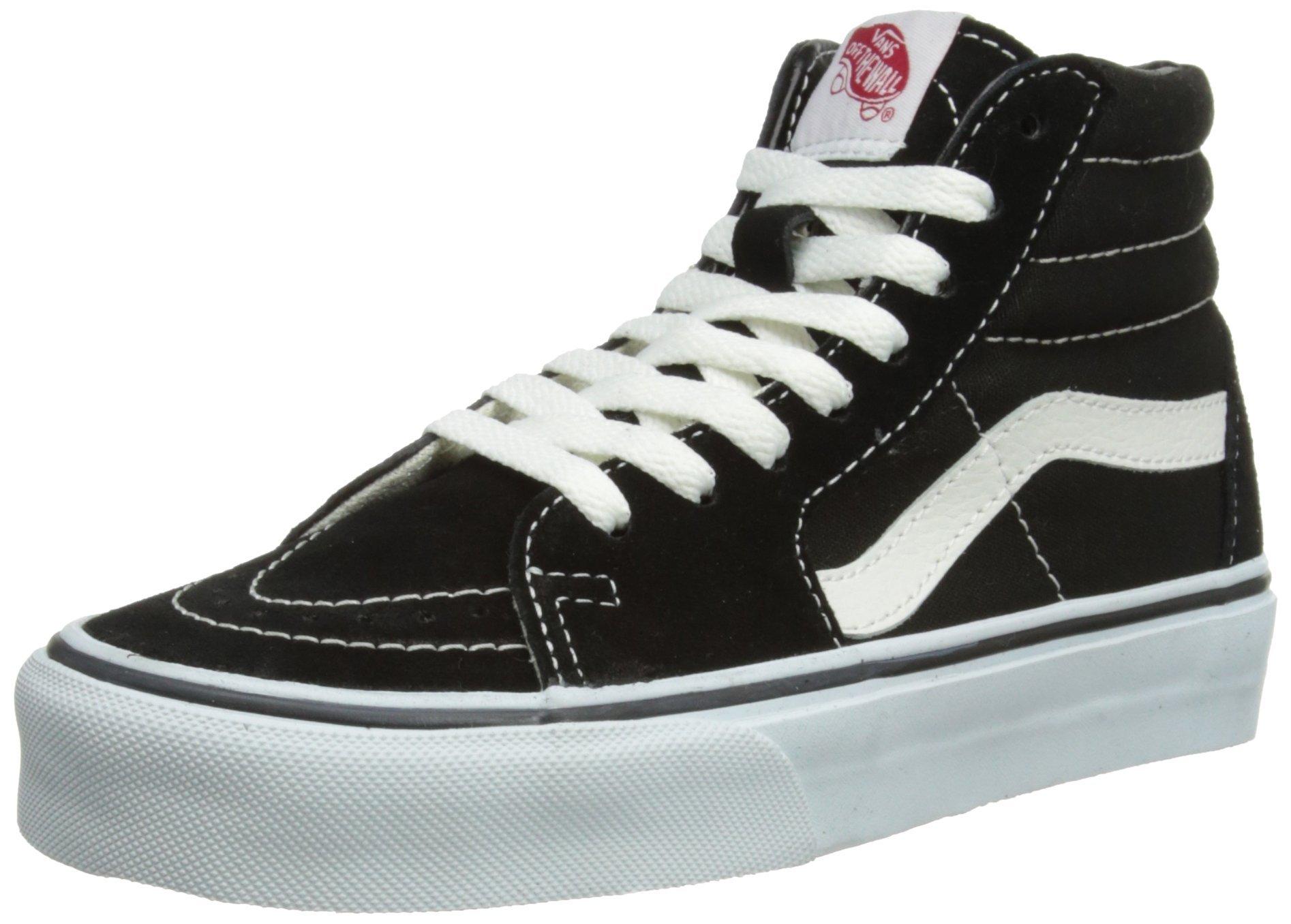 Vans Sk8-Hi Black White Skate VN-0D5IB8C Mens US 6