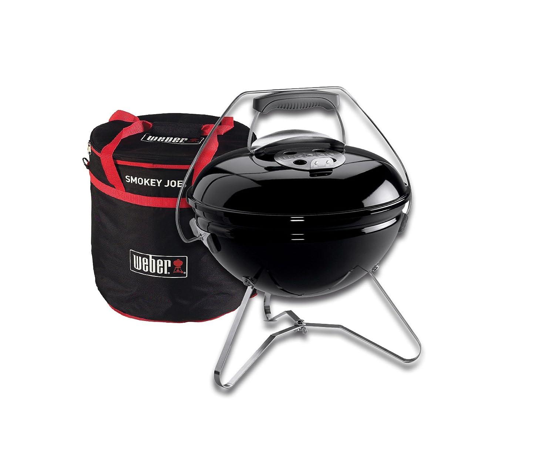 Weber Holzkohlegrill Smokey Joe : Weber smokey joe premium grill cm schwarz carry bag amazon