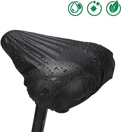 2 Stücke Fahrradsattel Wasserdicht Regen Sitzbezug Regendicht Abdeckung