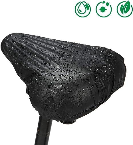 4x Fahrrad Sattel Abdeckung Regenschutz Sattelschutz Sattelüberzug Wasserdicht